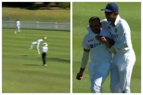 Watch: Prithvi Shaw Takes A Stunning Catch to Remove Tim Paine
