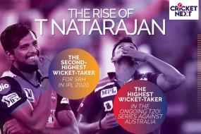 India vs Australia T20I Series 2020: T Natarajan's Fast Rise in International Cricket