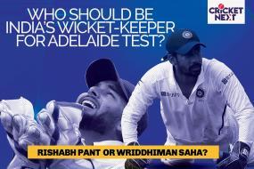 India vs Australia: Explosive Rishabh Pant or Skillful Wriddhiman Saha - Who Will be India's Choice