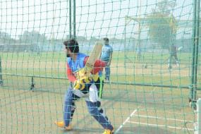 Suresh Raina Returns to Nets Ahead of Syed Mushtaq Ali Trophy - Check Out Pictures