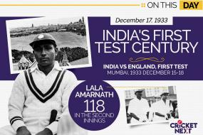 On This Day - December 17, 1933: Lala Amarnath Scores India's First Ever Test Century