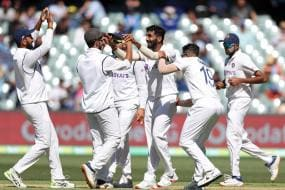 Jasprit Bumrah's Double-Strike Puts Aus in Trouble at 35/2; IND Bundled Out for 244