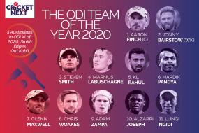 ODI Team of the Year 2020: Australians Dominate, Steve Smith Beats Virat Kohli for No. 3