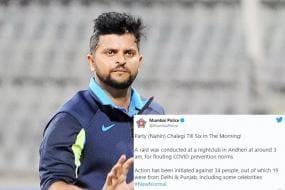 Suresh Raina Arrest: Party (Nahin) Chalegi Till Six In The Morning, Tweets Mumbai Police