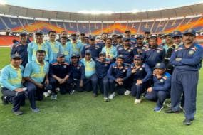 Sourav Ganguly XI Beaten in Friendly Game at New Motera Stadium; Find Out Who Won