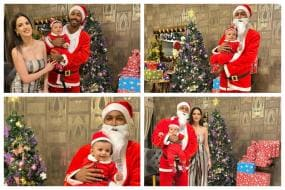 Hardik Pandya Turns Santa Claus, Celebrates Christmas with Wife Natasa Stankovic and Son Agasthya; See Pics