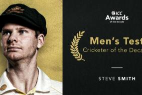 ICC Awards: Australia's Steve Smith Named Test Cricketer of the Decade