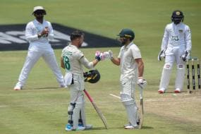 South Africa vs Sri Lanka: Faf Du Plessis Century Puts South Africa Ahead, Sri Lanka Toils