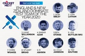 Test Team of 2020: England and New Zealand Dominate, R Ashwin Lone Indian in the XI