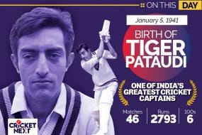 On This Day, January 5 1941: Birth of Former India Captain Mansoor Ali Khan Pataudi