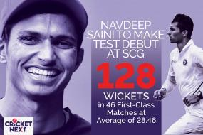 Can Right-Arm 'Fast' Navdeep Saini Make Australians Jump with his Pace and Bounce at the SCG?