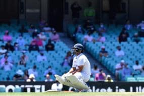 In Pics: Rishabh Pant Cops a Nasty Blow on the Elbow on Day 3 of the Third Test at Sydney