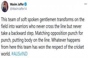 Wasim Jaffer Hails Team India for Being 'Warriors' who Match Opposition 'Punch for Punch'
