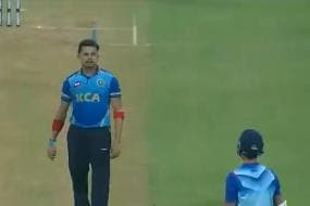 Syed Mushtaq Ali Trophy 2020-21: S Sreesanth Sledges Yashasvi Jaiswal, Gets a Fitting Reply From the Youngster