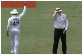 'Umpire RoBro' - Rohit Sharma Raising his Finger With Umpire Paul Wilson Has Twitter Amused, Watch Video