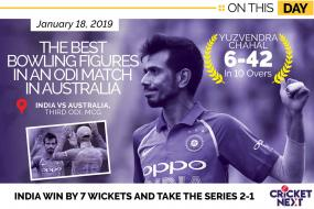 On This Day in 2019: Yuzvendra Chahal Produced the Best Bowling Figures in an ODI in Australia