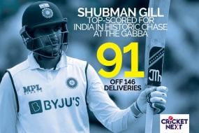 India vs Australia - Shubman Gill Shows Class, Temperament At The Top For India