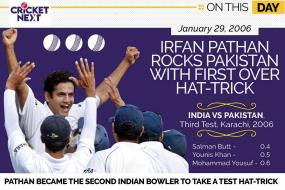On This Day - January 29, 2006: Irfan Pathan's Hat-Trick Rocks Pakistan In Karachi
