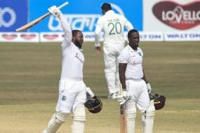 Debutant Kyle Mayers Smashes 210, West Indies Chase Down 395 for Incredible Win Over Bangladesh