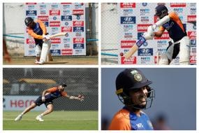 India vs England-In Pics: Team India Gears Up for Second Test in Chennai