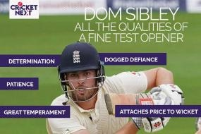 India vs England 2021: The Numbers Do Lie - Dom Sibley's Hardwork, Determination and Temperament Speaks for Itself