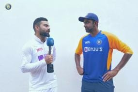 India vs England-WATCH: Ravichandran Ashwin Opens his Heart Out to Skipper Virat Kohli