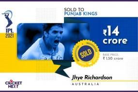 IPL Auction 2021: Australia's Jhye Richardson Reacts on Getting Rs 14 crore bid by Punjab Kings
