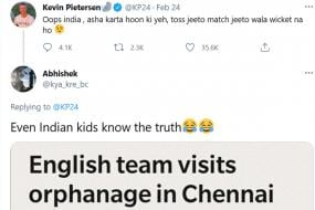 Kevin Pietersen Throws Shade at Indian Pitches, Gets Trolled