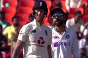 India vs England: Virat Kohli, Ben Stokes Engage in Cheeky Banter at Motera