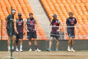 India vs England: IN PICS - England Sweat it Out Ahead of Fourth Test in Ahmedabad