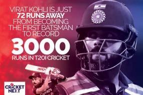 India vs England: Kohli Just 72 Runs Away From Becoming First Batsman To Reach 3000 T20I Runs