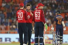 India vs England: In Pics-England Steamroll India by Eight Wickets in 1st T20I