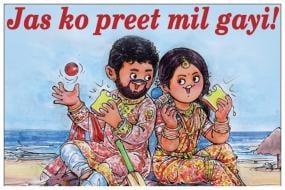 Amul Celebrates Jasprit Bumrah-Sanjana Ganesan Wedding With a Quirky Post