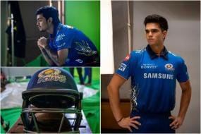 IN PICS | IPL 2021: Behind the Scenes From Mumbai Indians' Photoshoot Day