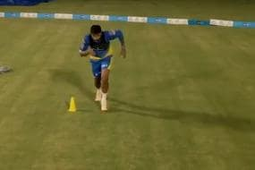 Watch: Drone Perfectly Captures Bird's Eye View of CSK's Practice Session