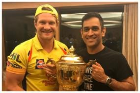 'First Time I Saw MS Dhoni Frustrated' - Shane Watson on CSK Dressing Room Atmosphere During IPL 2019 Final
