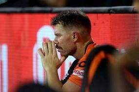 IPL 2021: Scores are Very Chaseable, It's Just Poor Batting: David Warner