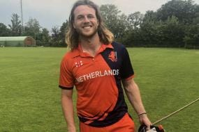 Max O'Dowd Becomes 1st Dutch Player to Score T20I Ton
