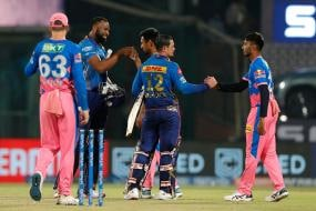 IPL 2021: IN PICS-Rajasthan Royals Fizzle Out Against Supreme Batting Show from Mumbai Indians