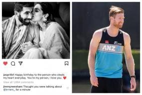 Jasprit Bumrah Posts 'You're my Person, I Love You'; Jimmy Neesham Thinks It's for Trent Boult