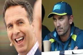 'No Shame In Losing To India's Third XI' - Michael Vaughan Trolls, Justin Langer Responds