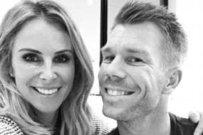Proud Husband David Warner Shares An Adorable Selfie With Wife Candice