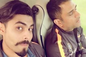 When Ravindra Jadeja Smudged 'Curd' Instead of Cake on MS Dhoni's Face