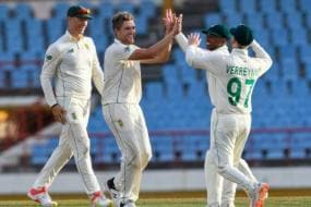 West Indies vs South Africa 2021: Quinton de Kock Misses Ton But SA in Control of 2nd Test