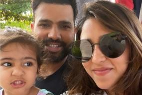 Ritika Sajdeh Thinks Rohit Sharma is 'Spying' on Them! Check Hilarious Pictures