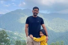 CSK Share MS Dhoni's New Look Photo With Daughter Ziva, Caption it After Actor Ajith Kumar Song