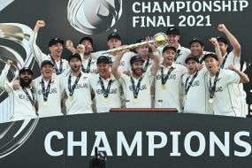 WTC Final: New Zealand Players Celebrate Hard After Breaking ICC Trophy Jinx in Southampton