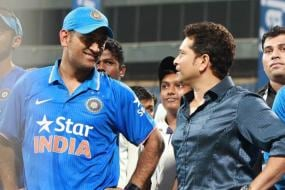 Watch: Throwback to when Sachin Tendulkar played MS Dhoni's signature Helicopter shot