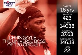 West Indies vs Australia 2021: 10 Interesting Numbers From The Glorious T20 Career of Chris Gayle