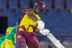 WI vs AUS: Evin Lewis' 79 Take West Indies to Another Win, Clinch Series Against Australia 4-1